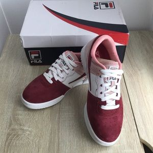 Fill Triple Color Leather Sneaker